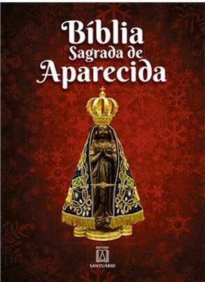Bíblia Sagrada de Aparecida (capa Nossa Senhora Aparecida)